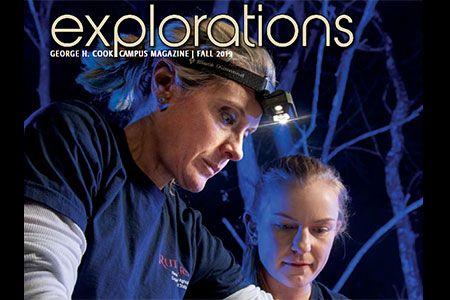 Explorations Fall issue cover.