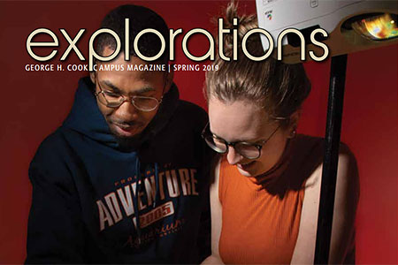 Explorations Spring issue cover.